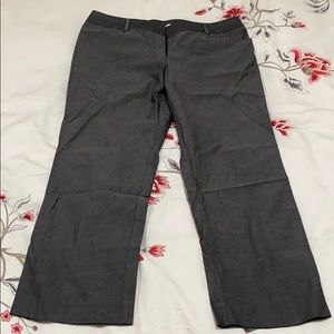 KENNETH COLE gray straight pants